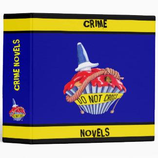 Crime Scene Cupcake Avery Binder