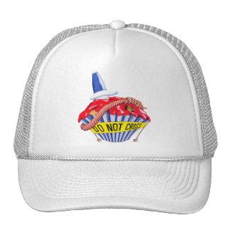 Crime Scene Cupcake Hat