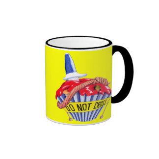 Crime Scene Cupcake Mug
