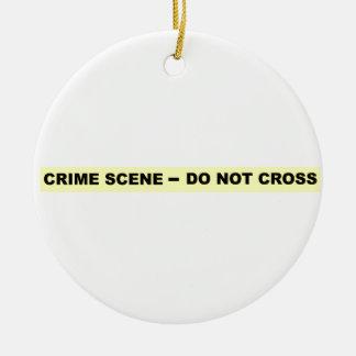 Crime Scene - Do Not Cross Ornament