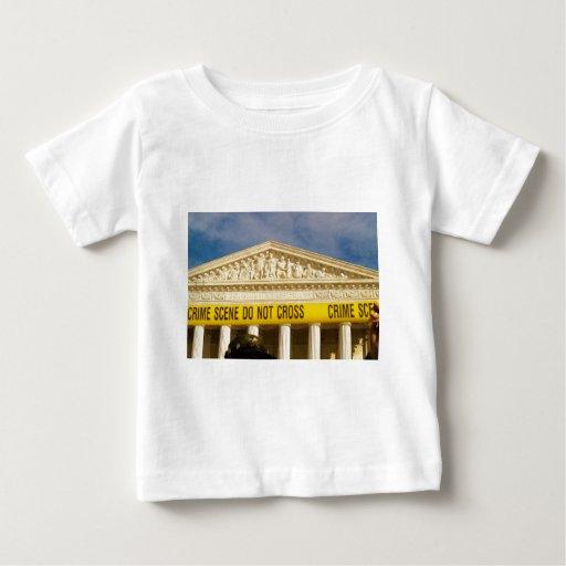 Crime Scene Do Not Cross U.S. Supreme Court Baby T-Shirt