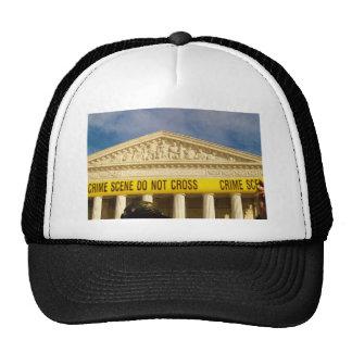 Crime Scene Do Not Cross U.S. Supreme Court Mesh Hat
