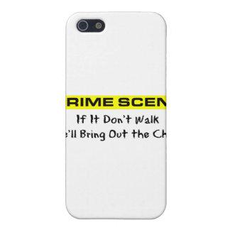 Crime Scene Investigator Case For iPhone SE/5/5s