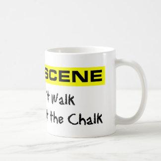 Crime Scene Investigator Coffee Mug