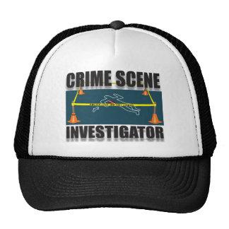CRIME SCENE INVESTIGATOR MESH HAT
