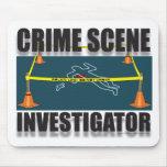 CRIME SCENE INVESTIGATOR MOUSE PAD