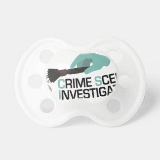 Crime Scene Investigator Pacifier