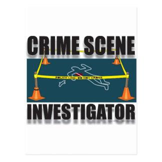 crime scene investigation postcards zazzle