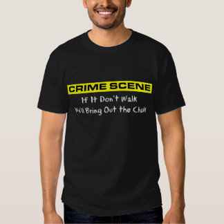 Crime Scene Investigator Tee Shirt