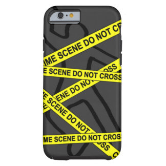 """Crime Scene"" IPHONE 6/6S TOUGH CASE"
