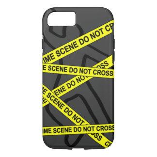 """Crime Scene"" iPhone 7 TOUGH CASE"