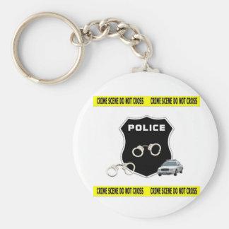 Crime Scene Keychains