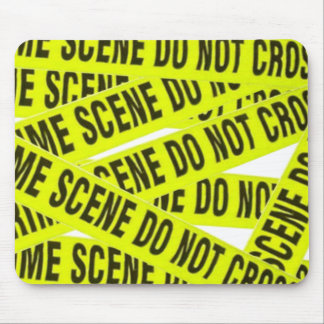 Crime Scene Mouse Pad Mouse Pads
