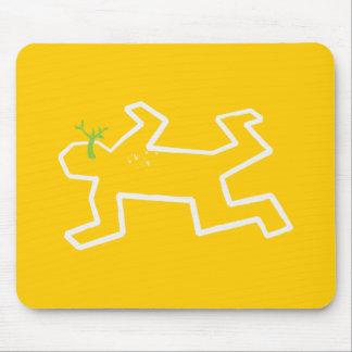 Crime Scene Mouse Pad