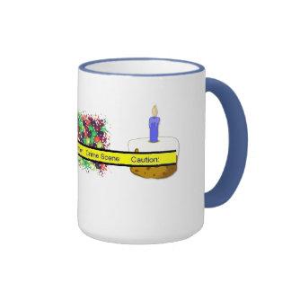 Crime Scene Ringer Coffee Mug