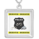 Crime Scene Necklace, Jewelry, Gifts and Apparel