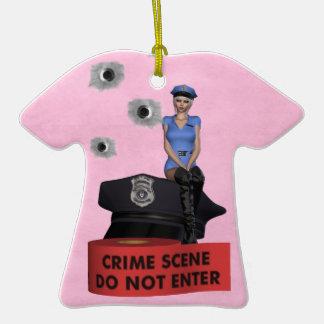 Crime Scene  Ornament