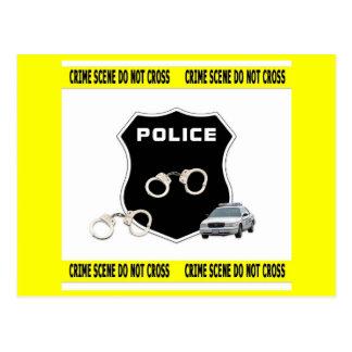 Crime Scene Postcard