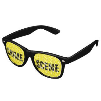 Crime scene retro sunglasses