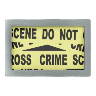Crime Scene Tape Belt Buckle