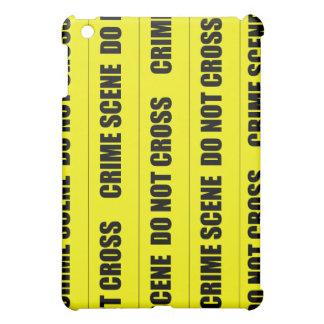 Crime Scene Tape iPad Mini Cover