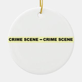 Crime Scene Tape Ornament