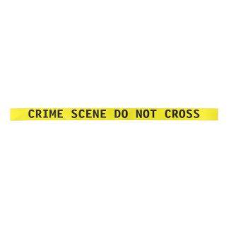 Crime Scene Tape Ribbon Satin Ribbon