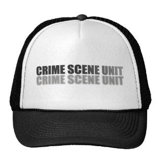 CRIME SCENE UNIT MESH HAT