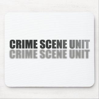 CRIME SCENE UNIT MOUSE PAD