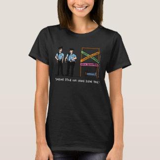 Crime Scene Women's Dark Tshirt