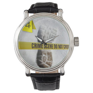 Crime Scene Wristwatch