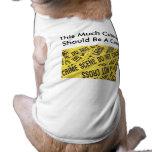 Crime Scene XS-3XL Doggie Tee Shirt