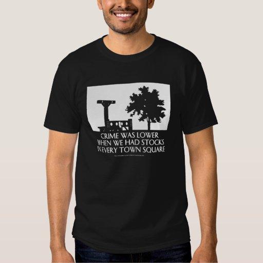Crime Was Lower... (dark) T-Shirt