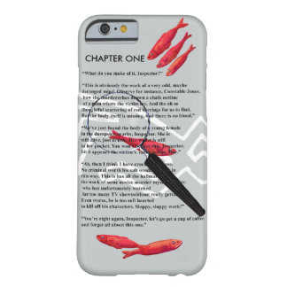 Crime writer humor barely there iPhone 6 case