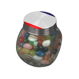 Crimea Glass Candy Jar