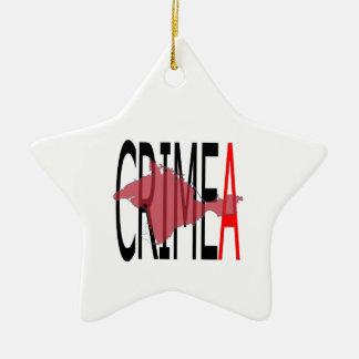 CrimeA Ceramic Ornament