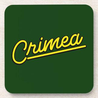 Crimea en amarillo