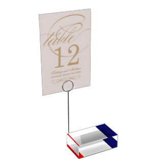 Crimea Table Card Holder