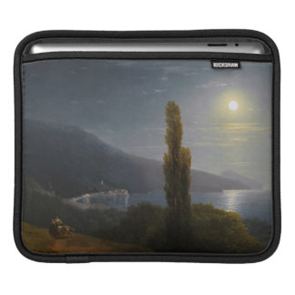 Crimean Coast in Moonlight Ivan Aivazovsky Sleeve For iPads