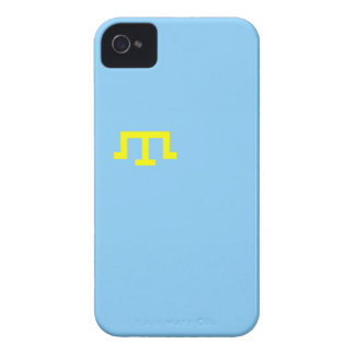 Crimean Tatar people ethnic flag iPhone 4 Case-Mate Case