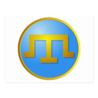 Crimean Tatars' Tamga Postcard