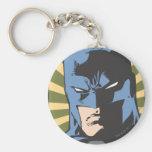 Crimen de la lucha - guarde la paz - Batman Llavero Redondo Tipo Pin