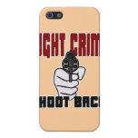 Crimen de la lucha - lanzamiento detrás iPhone 5 carcasa