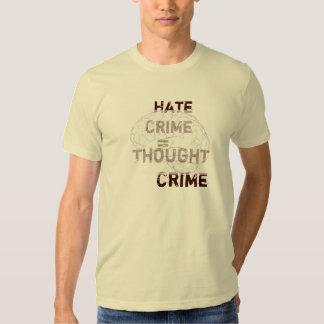 Crimen de odio = crimen del pensamiento camisas