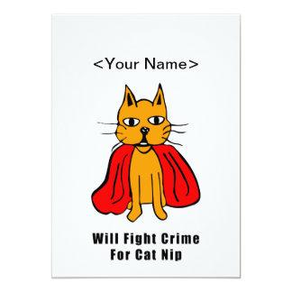Crimen estupendo de la pelea de gatos para el comunicado personal