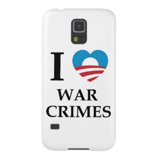 Crímenes de guerra de Obama Fundas Para Galaxy S5