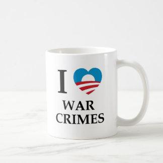 Crímenes de guerra de Obama Tazas