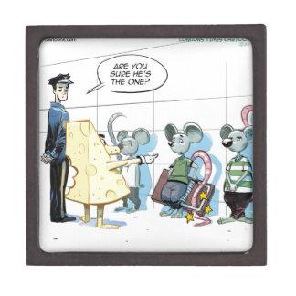 Crímenes del ratón de Rick Londres divertido Cajas De Recuerdo De Calidad