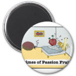 Crimes of Passion Fruit Zazzle 2 Inch Round Magnet