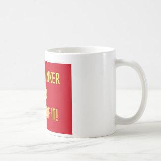 crimethinker and proud of it coffee mug